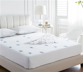 Cozy Plush Jacquard Knit Twin XL Mattress Pad