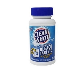 Dorm Essential for Dorm Laundry- Clean Shot - Bleach Tablets