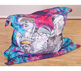 Custom Made Bean Bag Seat - Your Image - Cool Dorm Product