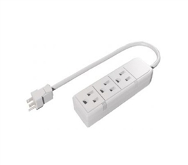 Power Max 3 Outlet - Grounded Protection For College Life