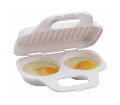 Tasty Dorm Meals - Egg Poacher - Microwave Egg Cooker - Cook Eggs In A Flash