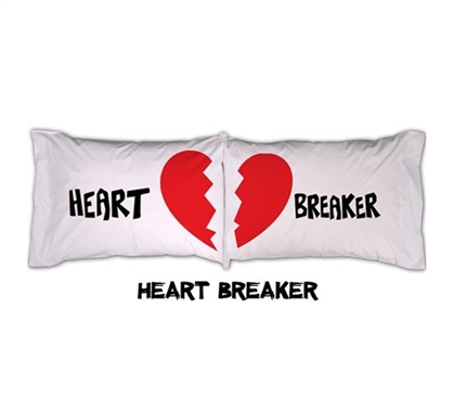 College Pillowcases Heart College bedding accessories