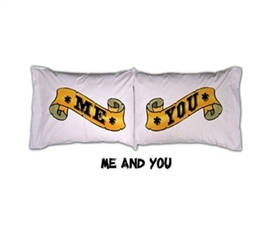 College Pillowcases Me & You Cool dorm products
