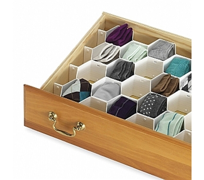 Useful For Your Dorm Stuff - Honeycomb Drawer Organizer - Keep Dorm Room Organized