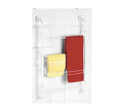 4 Swing Rack Towel Holder - Over the Door College Supplies