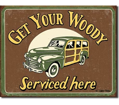 Tin Sign Dorm Room Decor guys dorm room or college apartment decorative tin sign featuring retro vehicle and offbeat puns