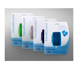 Keep Germs Away - Microban 2 in 1 Pill Case - Don't Lose Pills