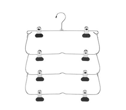 Tier Fold Hanger For Pants Skirts Dorm Closet