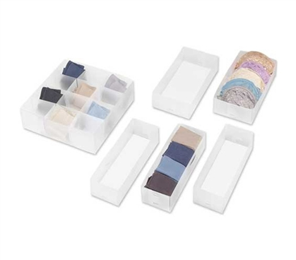 Drawer Organizers Combo Pack Dorm room supplies