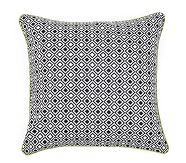 Modern Squares Dorm Throw Pillow Cover