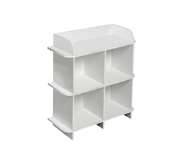 Increase Your Storage Space - Deco Dorm Storage Shelf - 4 Bin