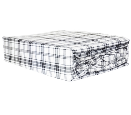 Plaid Flannel Twin XL Sheets Twin XL Bedding Extra Long Twin Sheets