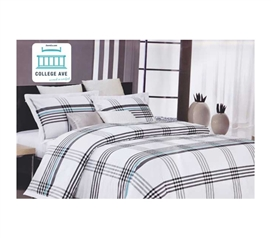 Twin XL Comforter Set - College Ave Dorm Bedding - 100% Cotton