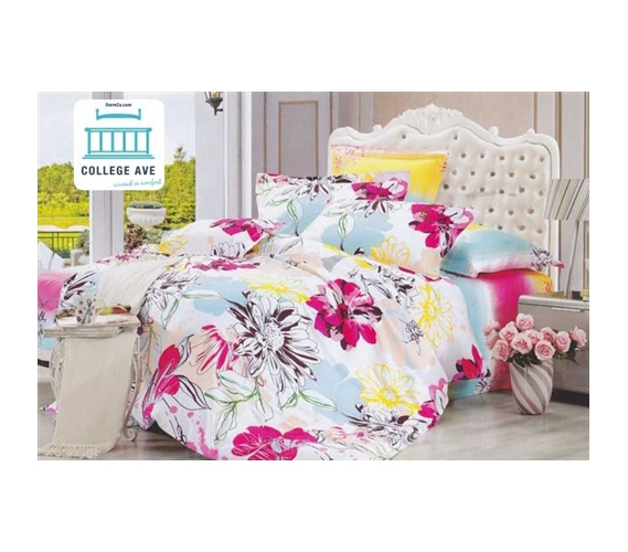 twin xl comforter set college ave dorm bedding extra long twin college sleeping girls decor cotton. Black Bedroom Furniture Sets. Home Design Ideas