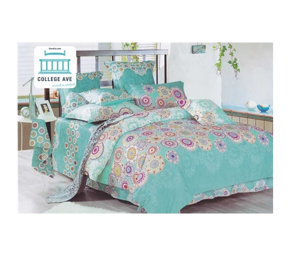 Caribbean Cirque Twin Xl Comforter Set College Ave