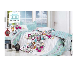 Twin XL Comforter Set - College Ave Dorm Bedding - Cotton Comforters Provide Comfort And Warmth