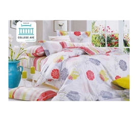 Twin XL Comforter Set - College Ave Dorm Bedding - High-Quality Cotton