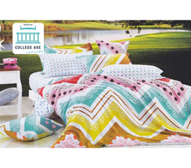 Twin XL Comforter Set - College Ave Dorm Bedding -Comfortable Comforter And Sham