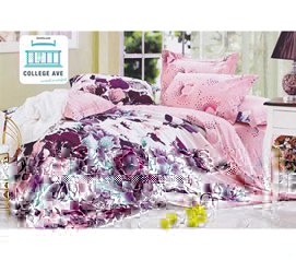 Twin XL Comforter Set - College Ave Dorm Bedding - Pretty Layers Of Comfort