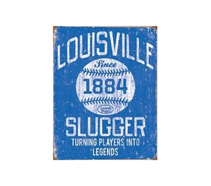 Buy Dorm Stuff - Louisville Slugger 1884 Tin Sign - Shop For College
