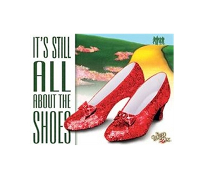 Must Haves For College - All About The Shoes Tin Sign - Decor For Dorms