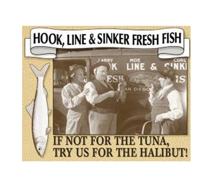 College Shopping Essentials - Sinker Tin Sign - Decor For Your Dorm Room