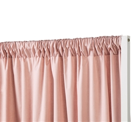 Privacy Room Divider Fabric - Darkened Blush (Fabric ONLY)