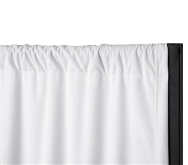 Privacy Room Divider Blackout Fabric - Blackout White (Fabric ONLY)