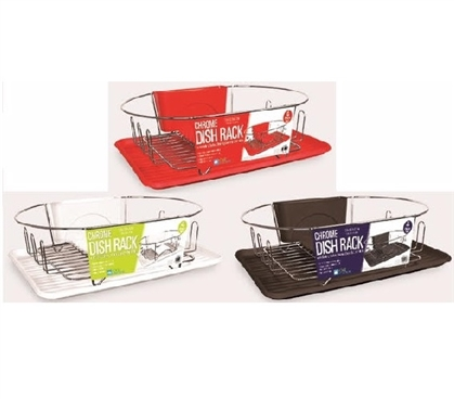 Dorm Oval Dishrack - Available in 3 Colors Dorm Organization Dorm Room Storage