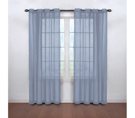 Neutralize Odors - Fresh Scent College Curtains - Blue - Add A Touch Of Elegance