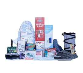 Comprehensive College Student Laundry & Bath Supplies - Premium Dorm Room Kit