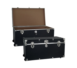 Dorm Room Storage Made Easy - The College Dorm Room Trooper Trunk - With Wheels