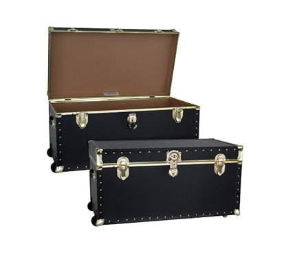 College Storage Made Simple - The College Dorm Room TrailBlazer Trunk - With Wheels