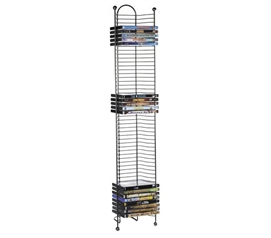 Cheap College Storage Options - Nestable 52 DVD/BluRay/Games Tower