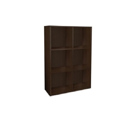 College Bookcase Black Way Basics Dorm room organization