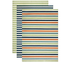 Decorate With College Rugs - Simple Stripe Dorm Rug - Decor For Dorms