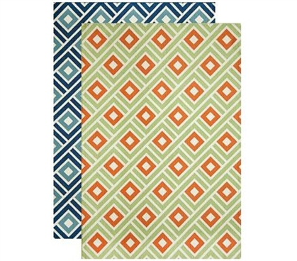 Add Area Rugs - Courtyard Dorm Rug - Decorate Your Dorm Room