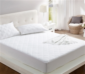 100% Cotton Filled College Mattress Pad - Twin XL