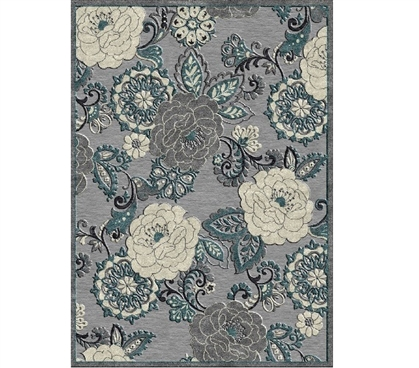 Dorm Room Decorations Kaylee Dorm Rug - Gray College Supplies