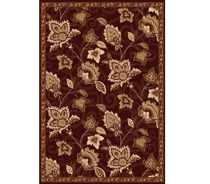 Dorm Room Decorations Chelsea Dorm Rug - Brown and Gold Dorm Essentials