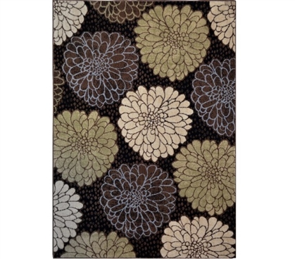 Must Have Dorm Items Twilight Garden Dorm Area Rug - Multi-Colored Dorm Necessities