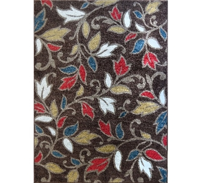 Intensity Dorm Rug - Brown Dorm Room Decorations