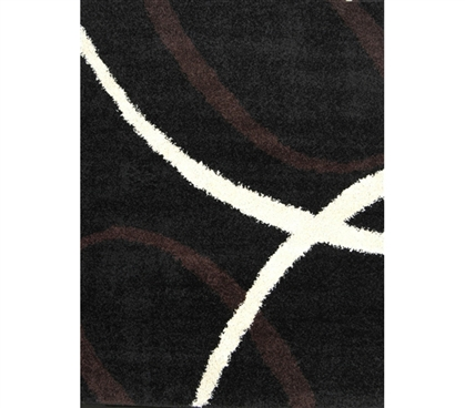 Must Have College Products - Symphony College Rug - Black - Cool Dorm Decorations