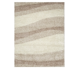 Don't Neglect College Rugs - Symphony College Rug - Ivory Beige - Rugs Are Dorm Decorations