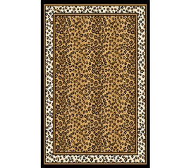 Cool Cheetah Print (Everyone Loves Cheetah)- College Dorm Rug