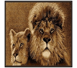 Stoic Lions Dorm Room Decor Rug College Decor Accessory
