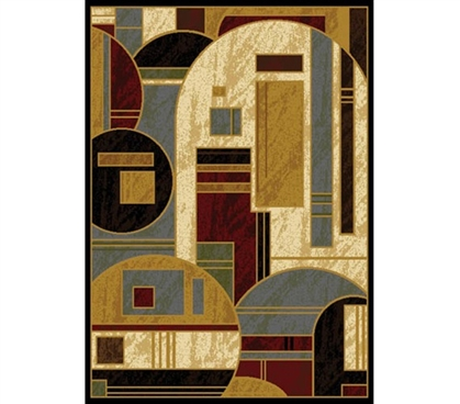 Modern Mixed Rug College Supplies Essential Dorm Room Decor