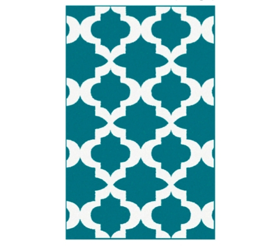 Teal And White College Supplies