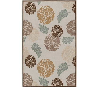 Warm & Relaxing College Decoration - Spa Style Dorm Room Rug