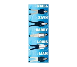 Must-Have Dorm Items - One Direction Blue Poster - Posters For College